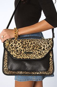 Betsey Johnson The Cheetah Mix Up Top Handle Bag : Karmaloop.com - Global Concrete Culture
