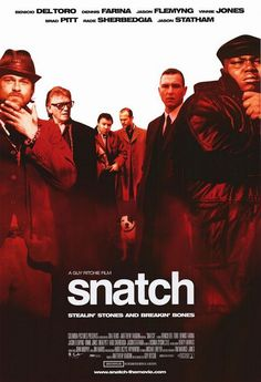 Snatch..the most awesome Guy Richie Film ever made and the last of them if you ask me. This movie was extremely well written and entertained me down to the last bit part actor. Now this is beyond stellar...it was epic!