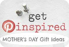 get inspired: Mother's Day 2013 gift ideas from Fresh Idea Studio