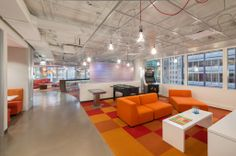 Trending Now: Open Work Spaces, Modern Designs, and Loft Style Ceilings Design by: Wright Heerema   Architects