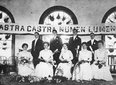 Estelle Wiggins graduation from Summerlin Institute 1909  (seated, 4th from the right).  Also graduating was Spessard Holland (standing, second from the right).  Also in the photo Mary Plasco, Eva Ballard, Emerson Harless and Beatrice Tillie.  http://www.floridamemory.com/items/show/18945