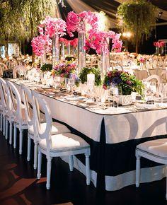 Luxe Outdoor Wedding | Liz Banfield | blog.theknot.com