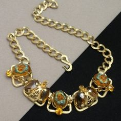 Opulent Necklace c1960 Vintage Henkel & Grosse for Christian Dior