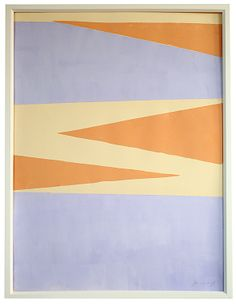 Lavander and Tangerine Pointed Realm by Jennifer Ament