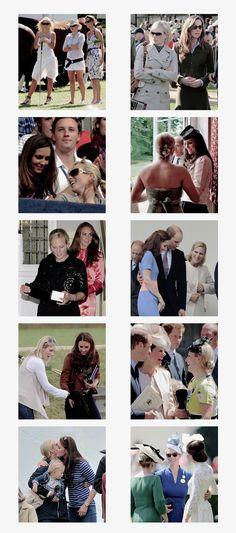The Duchess of Cambridge and Zara Phillips