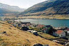 Seyðisfjörður 1963 by han-ice, via Flickr