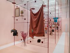 "EXHIBITION DESIGN CLUB - ""Pia Camil: A Pot for a Latch,"" 2016. Courtesy New..."