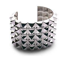 Henri J.Sillam  Easy Rider cuff in silver, price on request