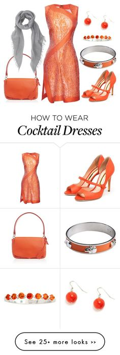 """Orange Zest"" by theapatricia on Polyvore"