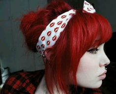 I wish I could have hair this color but it would take a lot of money and time lol and I don't have money lol