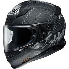 Shoei RF 1200 Seduction Full Face Womens Motorcycle Helmet TC 5 Black Grey | eBay