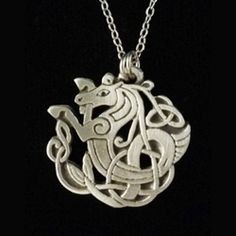 Celtic Seahorse Necklace 21-2203 - Buy from By The Sword, Inc.  8.98