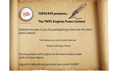 TMTL Engines Poem Contest