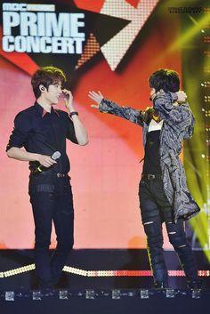 150801 #인피니트 Sungyeol Sungjong - MBC Music Prime Concert