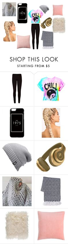 """""""chill day"""" by ellen-rose132 on Polyvore featuring interior, interiors, interior design, home, home decor, interior decorating, WearAll, The North Face, Surya and Pottery Barn"""