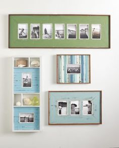 Weathered Wall Frames