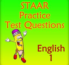 64 best staar test study guides images on pinterest staar test take advantage of these free english 1 staar practice test questions these staar practice questions fandeluxe Image collections