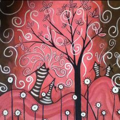Whimsical painting :)