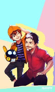 Boboiboy Anime, Anime Guys, Anime Art, Anime Galaxy, Boboiboy Galaxy, Wallpapers For Mobile Phones, Mobile Wallpaper, Doraemon Wallpapers, Anime Version
