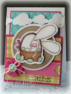 I love the little bits of bling Jen del Muro added to her clouds for just the right amount of glitz.