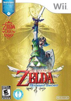 The Legend of Zelda: Skyward Sword - Wii Box (USA)