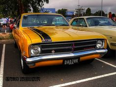 Holden HK Monaro with Black and White Custom Plate. Man Cave Gear, Car Man Cave, Holden Muscle Cars, Aussie Muscle Cars, Big Girl Toys, Toys For Boys, General Motors Cars, Holden Monaro, Holden Australia