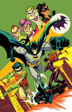 awesomecomicthings:  Batman 1966 by Khary Randolph