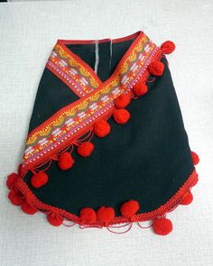 Dog clothes, ethnic minority costume from Thailand