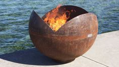Picture of The Firefly 37 inch Sculptural Firebowl