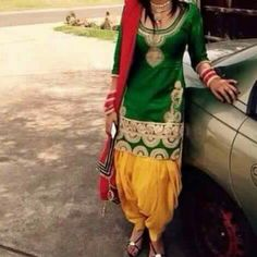 Beautiful suit and salwar