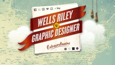 Currently browsing Wells Riley for your design inspiration Great Website Design, Portfolio Website Design, Blog Design, Website Designs, Design Design, Design Ideas, Wells, Header Design, Creative Web Design