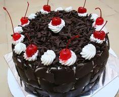 Resep Masakan Sehari-hari Terbaru: Resep Mudah Cara Membuat Black Forest Enak dan Lembut Bolu Cake, Simple Cake Designs, Resep Cake, Black Forest Cake, Happy Birthday Cakes, Birthday Wishes, Bread Cake, Dessert Recipes, Desserts