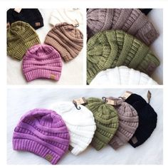 • Acrylic Beanies • Stay warm this winter with these extremely soft and cozy acrylic beanie hats! Trendy and stylish!   Colors: Olive, Cream, Taupe, Black, Candy Pink, Lavender, Mint, Burgundy, Grey   PLEASE DO NOT purchase this listing. Comment what colors you want below and I'll make you a separate listing.   No Trades. Price Firm Jennifer's Chic Boutique Accessories Hats
