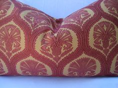 Decorative Ikat Pillow Upholstery Pillow by CreativeTouchDecor