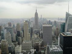 Widok z tarasu widokowego Top of the Rock w Centrum Rockefellera (2013)
