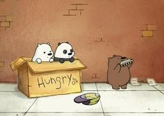 we bare bears,gif,gif animation, animated pictures,vine Ocelot, We Bare Bears Wallpapers, Cute Wallpapers, Pardo Panda Y Polar, Panda Facts, Cartoon Network Shows, We Bear, Bear Wallpaper, Bear Cartoon