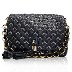 Marc Jacobs Black Quilted Tassel Bag  http://www.consignofthetimes.com/product_details.asp?galleryid=6633