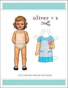 Oliver + S - ice cream dress pattern