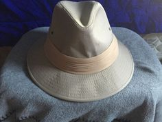 Vintage Young An Panama Safari Hat Size Large