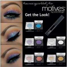 Get the Look: Sparkly Sunset Tutorial. Products found on unlimitedbeauty.ca