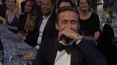 Ryan Gosling's Sweet Reaction To Emma Stone's SAGs Shout-Out Is Unbearably Cute : Elle
