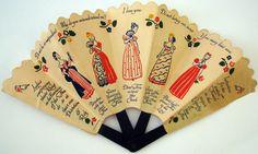 vintage paper fans - Google Search