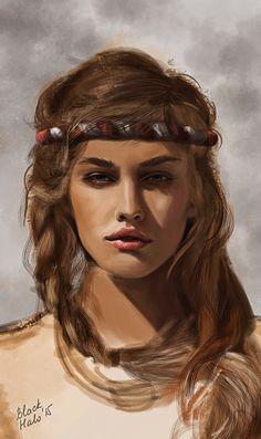 Saskia by dgblackhalo on DeviantArt
