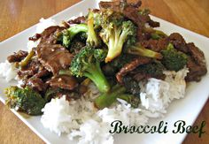Best Beef And Broccoli Recipe.Korean Style Beef Broccoli Rice Bowl Bowl Me Over. Stir Fry Sauce Taste Like Chinese Restaurants! Cube Steak Recipes, Beef Recipes, Salmon Recipes, Vegetarian Recipes, Broccoli Beef, Broccoli Recipes, Pickled Brussel Sprouts, Spicy Chicken Curry Recipes, Beef Lo Mein Recipe