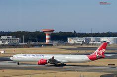 Photography by sunset-winghttp://sunsetwing.com/  Narita International Airport (RJAA/NRT) / 成田国際空港  2月1日で成田、日本から撤退するVirgin Atlantic Airways  私が会うことができた乙女たちを紹介  A340-600 / G-VWEB / Surfer Girl