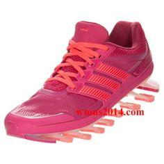 reputable site f90f6 b5ff7 Womens Adidas Springblade Pink Flash Total Orange