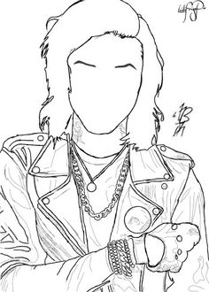 FanArt (Drawing) of Andy Biersack of Black Veil Brides