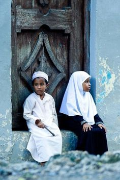 Muslim boy and girl Originally found on: ikran02 • Islamic Art and Quotes