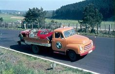 Opel Blitz from BMW Willi Martini from adenau with edel scrap on the cot.