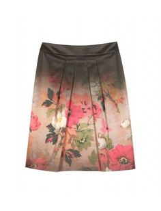 mytheresa.com - Etro - FLORAL PRINT GRADIENT SKIRT - Luxury Fashion for Women / Designer clothing, shoes, bags - StyleSays
